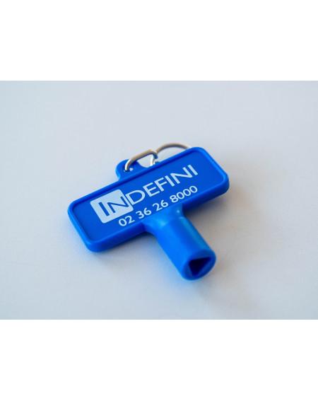 Clé- Accessoire pour distributeur de gel hydroalcoolique sans contact