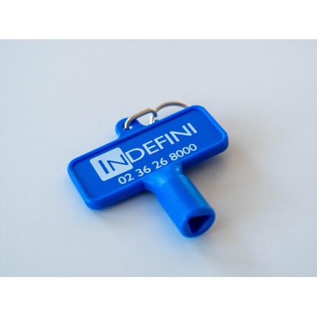 Clé de remplacement - Accessoire pour distributeur de gel hydroalcoolique sans contact