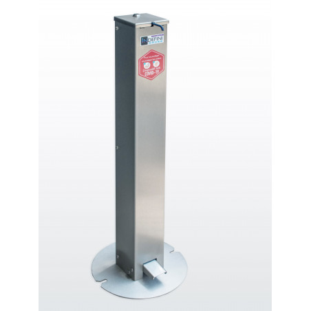 259 € HT -  Distributeur de gel hydroalcoolique sans contact - Borne Hydro'gel - Covid 19