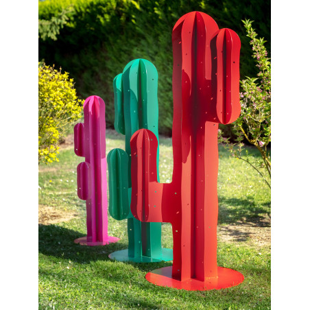 Jardin intemporel - CACTUS CANDELABRE - 180cm