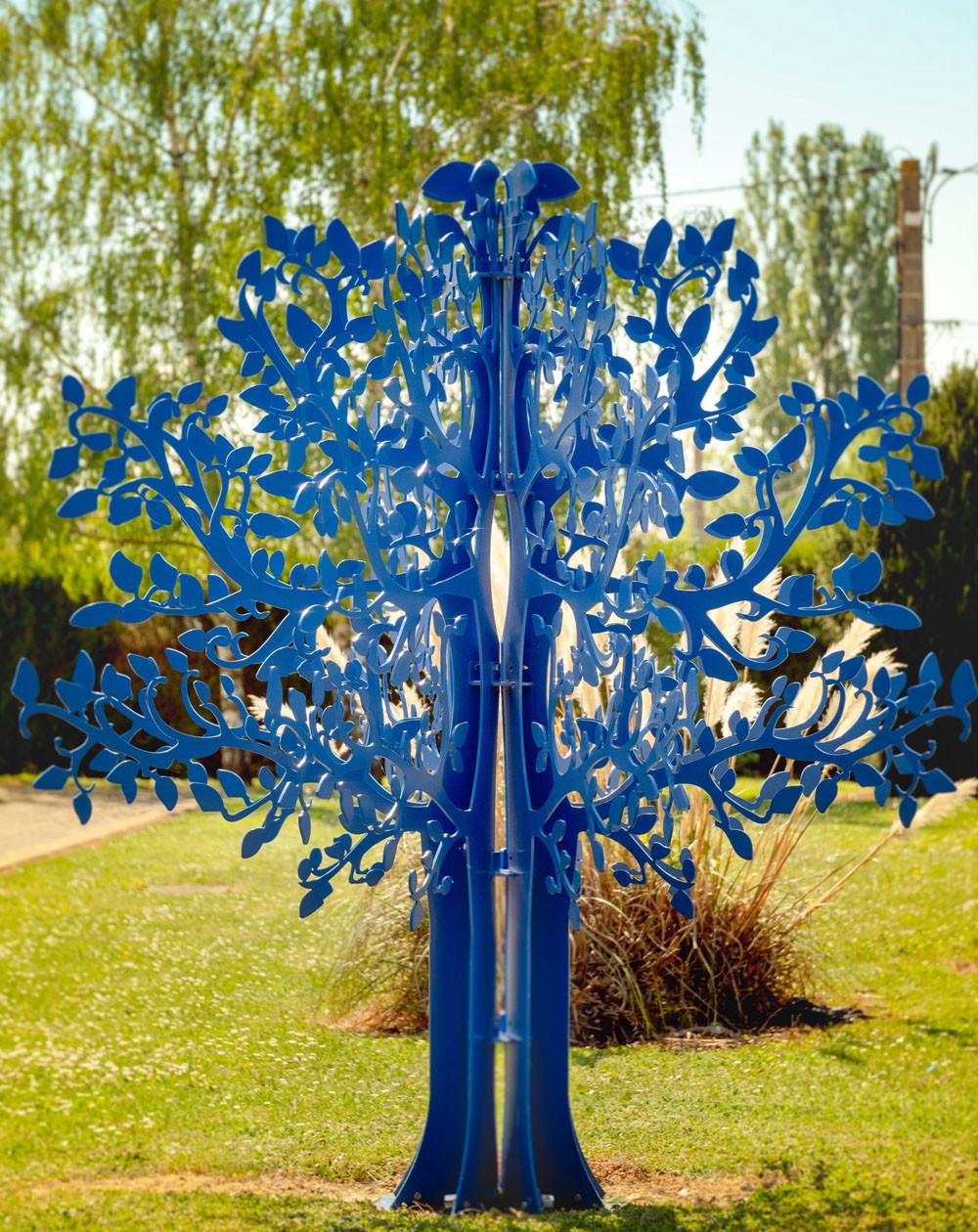 Jardin intemporel - ARBRE METAL GEANT - 300cm