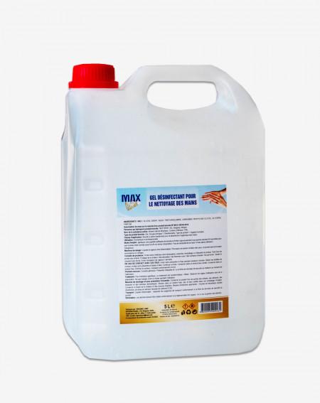 39 € HT -  Gel hydroalcoolique désinfectant - Bidon de 5 litres - Covid 19